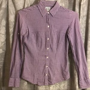 Converse Plaid Long Sleeve Button Front Shirt XS